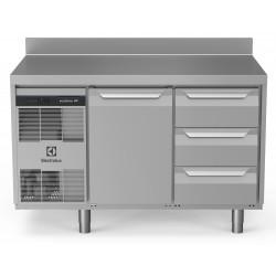 Хладилна маса, 1 врата, 3х1/3 чекмеджета, 290 л, -2/+10 оС