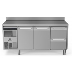 Хладилна маса, 2 врати, 2 чекмеджета 440 л, -2/+10 оС