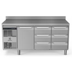 Хладилна маса, 1 врата, 6х1/3 чекмеджета, 440 л, -2/+10 оС