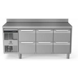 Хладилна маса, 6 чекмеджета, 440 л, -2/+10 оС