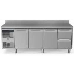 Хладилна маса, 3 врати, 2 чекмеджета, 590 л, -2/+10 оС