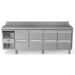 Хладилна маса, 8 чекмеджета, 590 л, -2/+10 оС