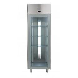 Хладилник със стъклена врата 670 л, +2/+10 оС,