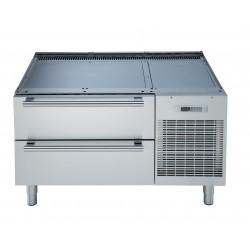 Хладилна минусова база с 2 чекмеджета за монтаж на уреди Electrolux