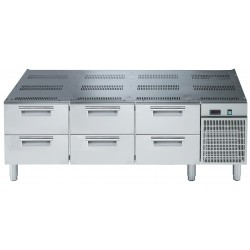 Хладилна база с 6 чекмеджета за монтаж на уреди Electrolux