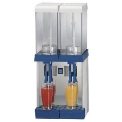 Диспендър за студени напитки, 2x9 л