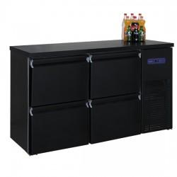 Хладилник за напитки с 4 чекмеджета, -2/+8