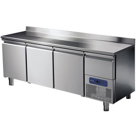 Хладилна маса, 3 врати и охлаждаемо чекмедже, 474 л, -2/+8 оС
