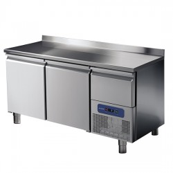 Хладилна маса, 2 врати и охлаждаемо чекмедже, 281 л, -2/+8 оС