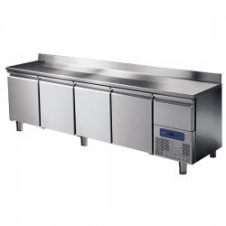 Хладилна маса, 4 врати и охлаждаемо чекмедже, 474 л, -2/+8 оС