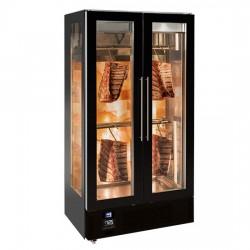 Хладилна витрина за зреене на месо с 2 врати и контрол на влажността
