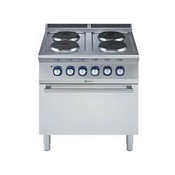 Ел. печка Electrolux с 4 кръгли котлона + ел. фурна
