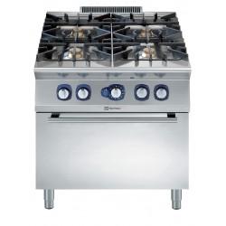 Газова печка 4 горелки + газ. фурна Electrolux